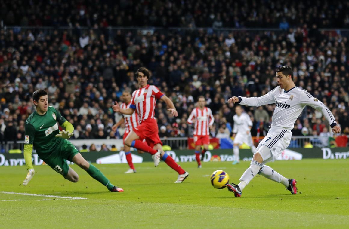 Cristiano Ronaldo quase tão rápido quanto Usain Bolt