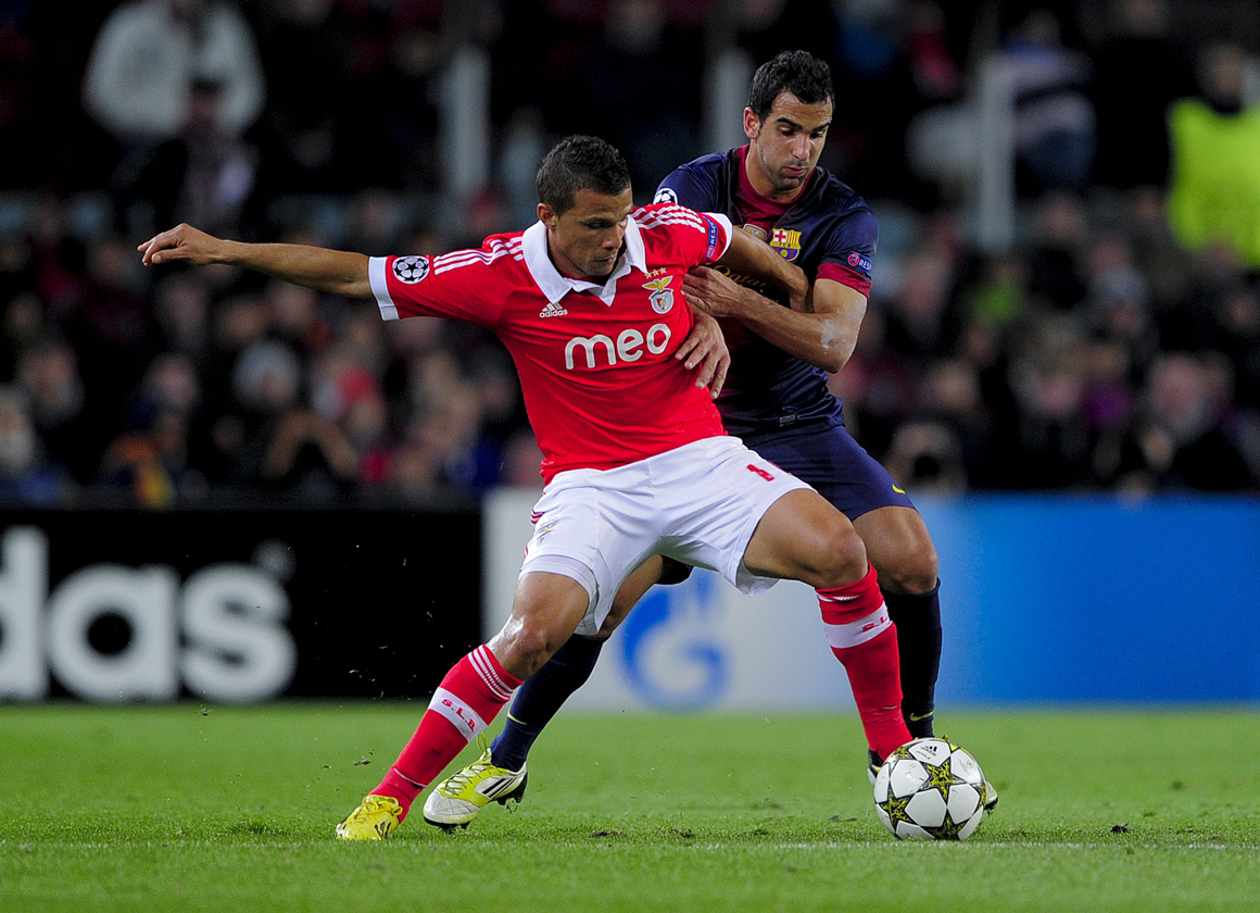 Barcelona B foi suficeinte para deixar o Benfica for da Champions