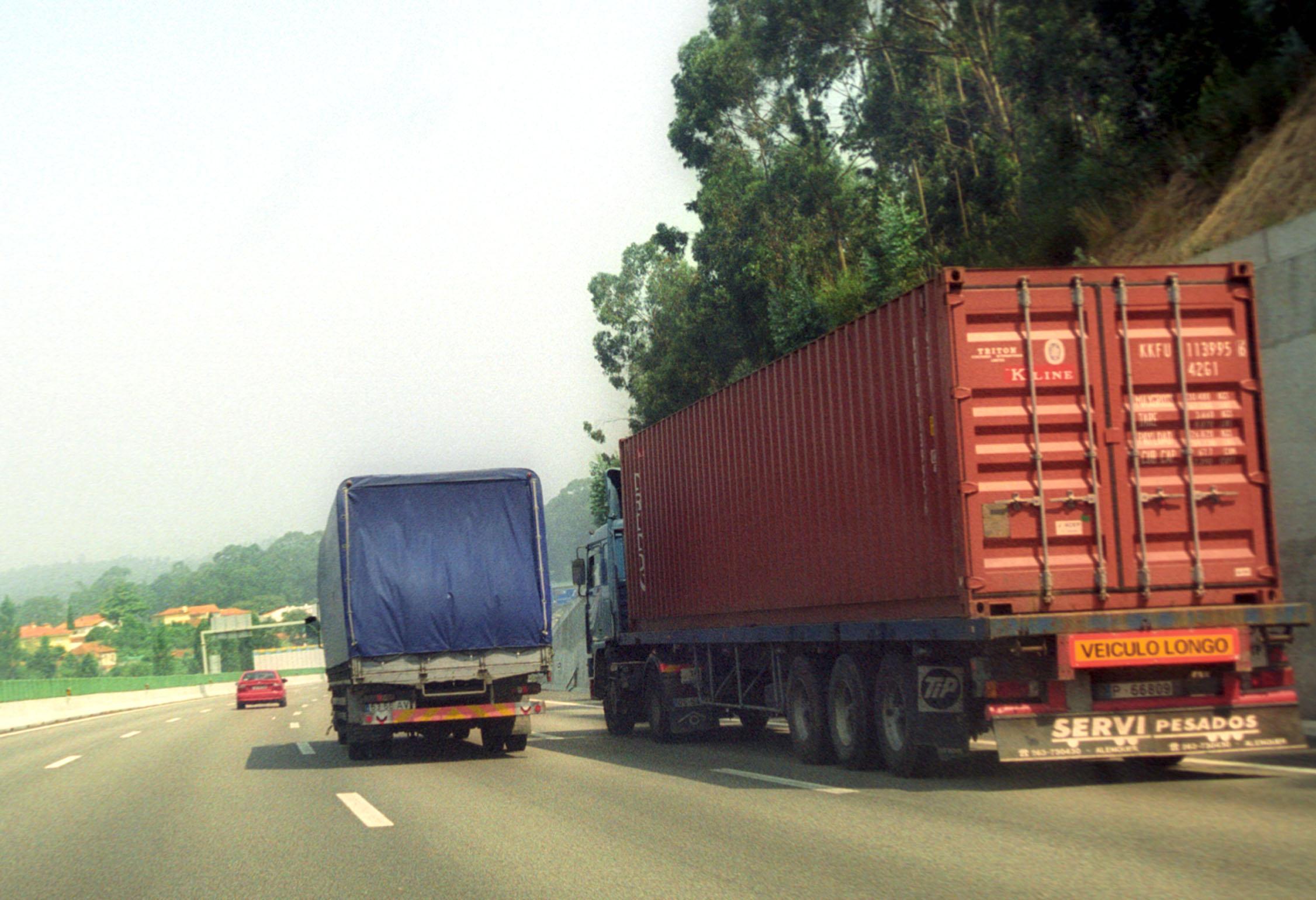 Transportes de mercadoria