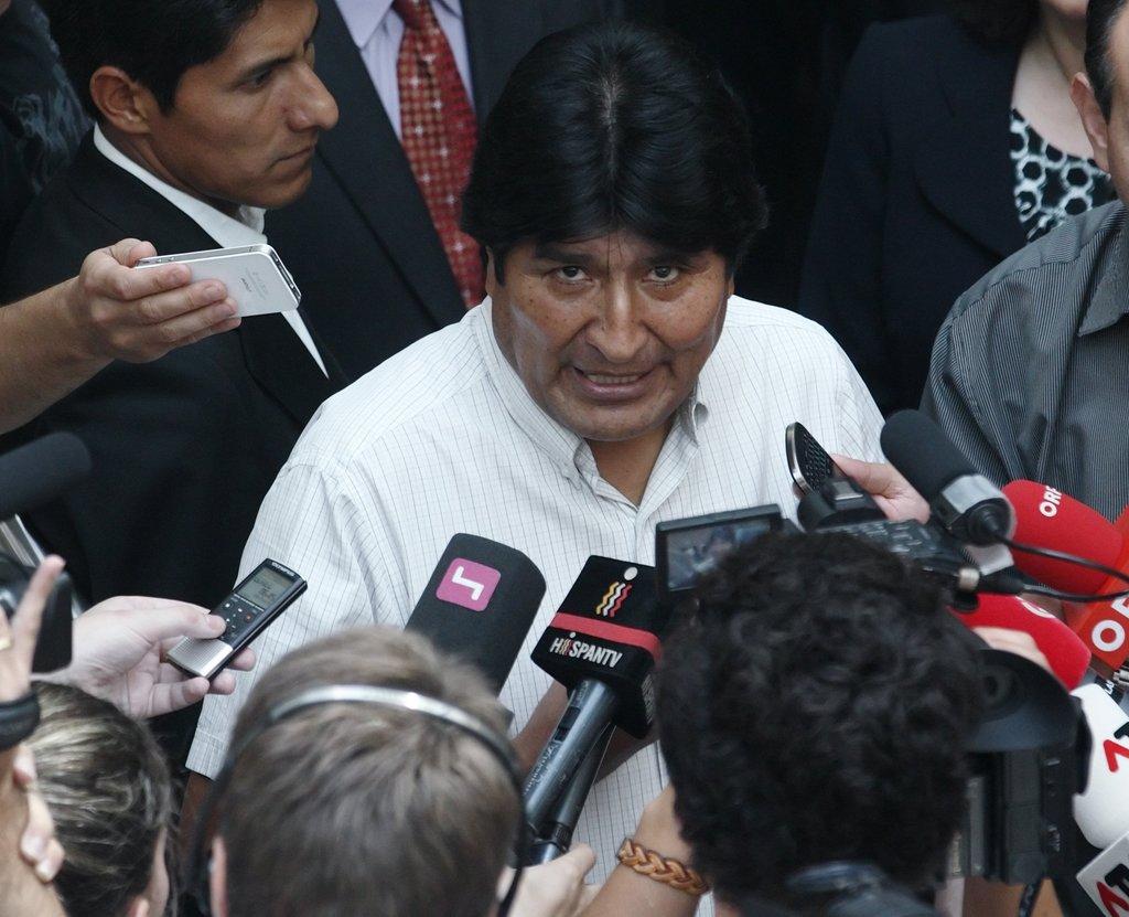 Evo Morales, Presidente da Bolivia