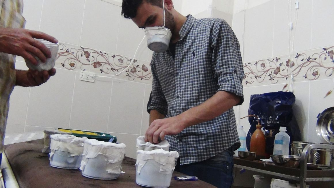Armas químicas na Síria