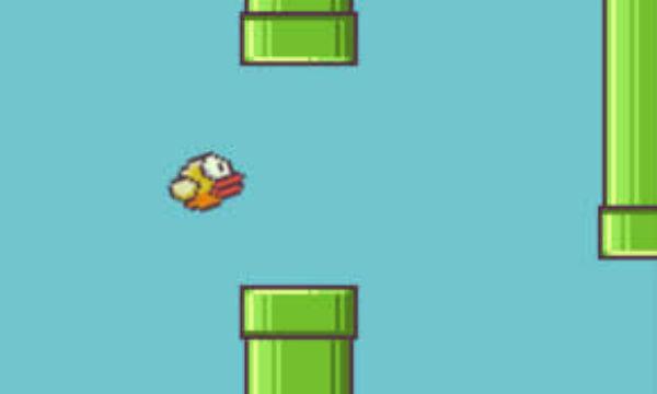 Flappy bird voa para muito longe